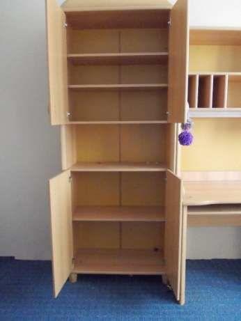 Фото 2 - Детская стенка (мебель, шкаф, пенал, стол в детскую комнату)