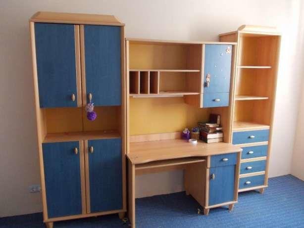Фото - Детская стенка (мебель, шкаф, пенал, стол в детскую комнату)