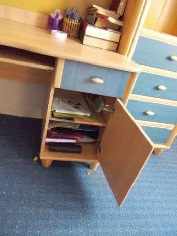 Фото 4 - Детская стенка (мебель, шкаф, пенал, стол в детскую комнату)
