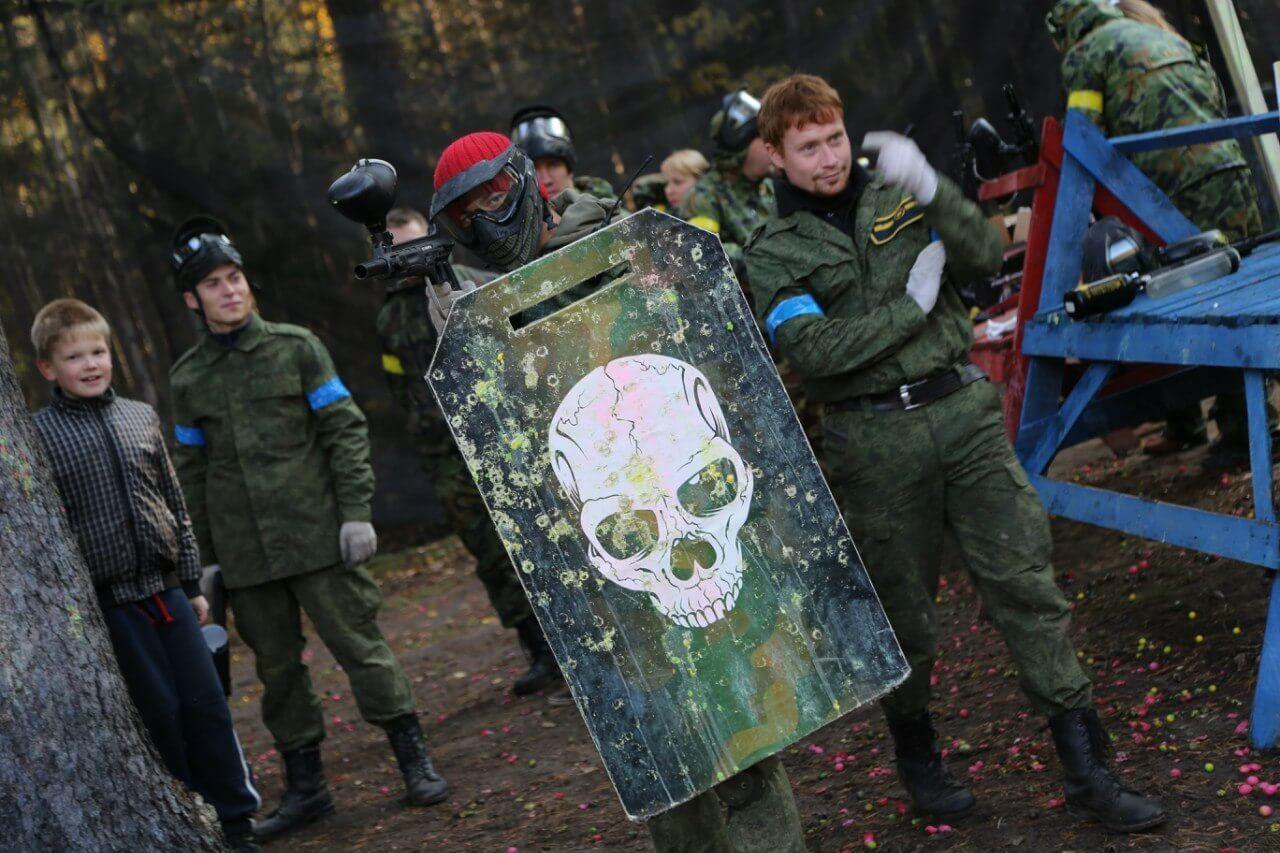 Фото 2 - Пейнтбол в Павлограде с укрытиями и бронежилетами