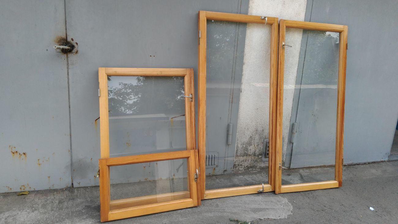 Фото - деревянные оконные рамы