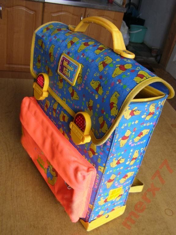 Фото 2 - Рюкзак-ранец Винни Пух модель короб , Польша