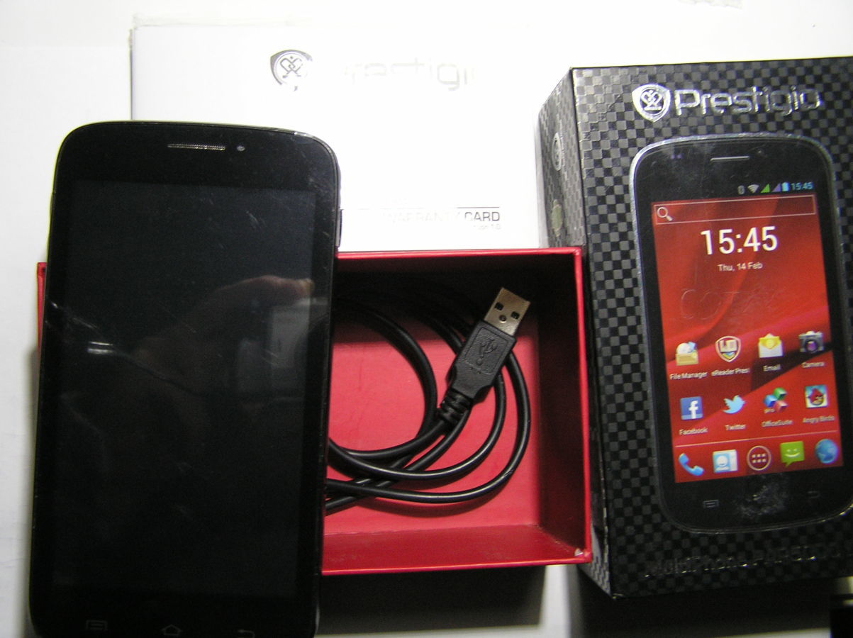 Фото 5 - Prestigio MultiPhone PAP5000DUO Black
