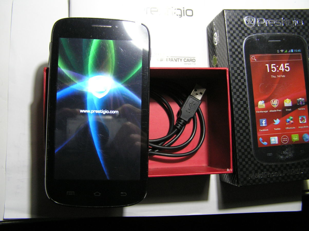 Фото 6 - Prestigio MultiPhone PAP5000DUO Black