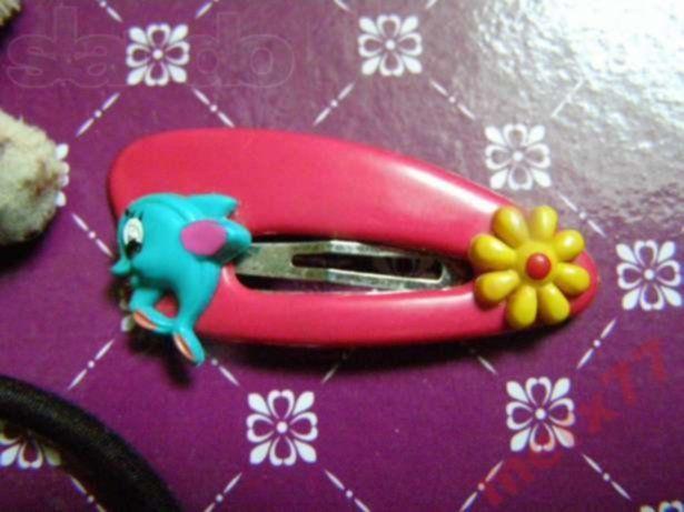 Фото 2 - Набор украшений для Вашей принцессы (заколка, резинка, браслет)