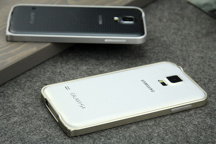Фото - Samsung Galaxy S5 алюминиевый бампер-рамка