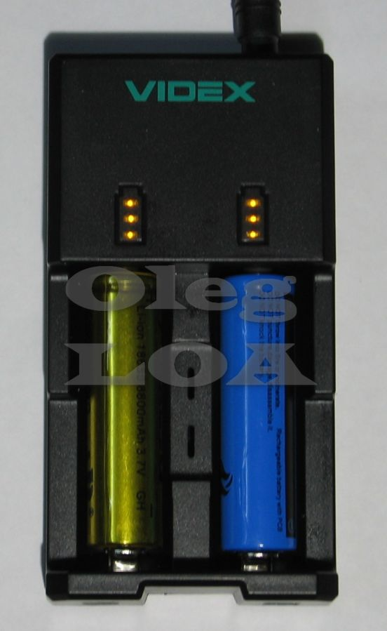 Фото 2 - Универсальная зарядка-павербанк Videx U202 1-2х Li-ion
