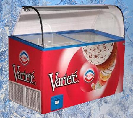 Фото - Морозильные витрины под мороженое Crystal VENUS VETRINE 26, новые