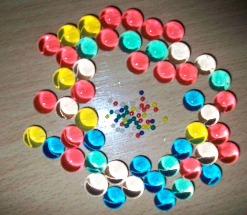 Фото - Гидрогель - 500 разноцветных шариков , растущих в воде. Аналог Орбиз.