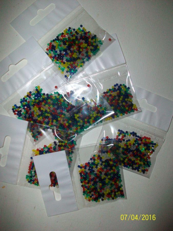 Фото 7 - Гидрогель - 500 разноцветных шариков , растущих в воде. Аналог Орбиз.