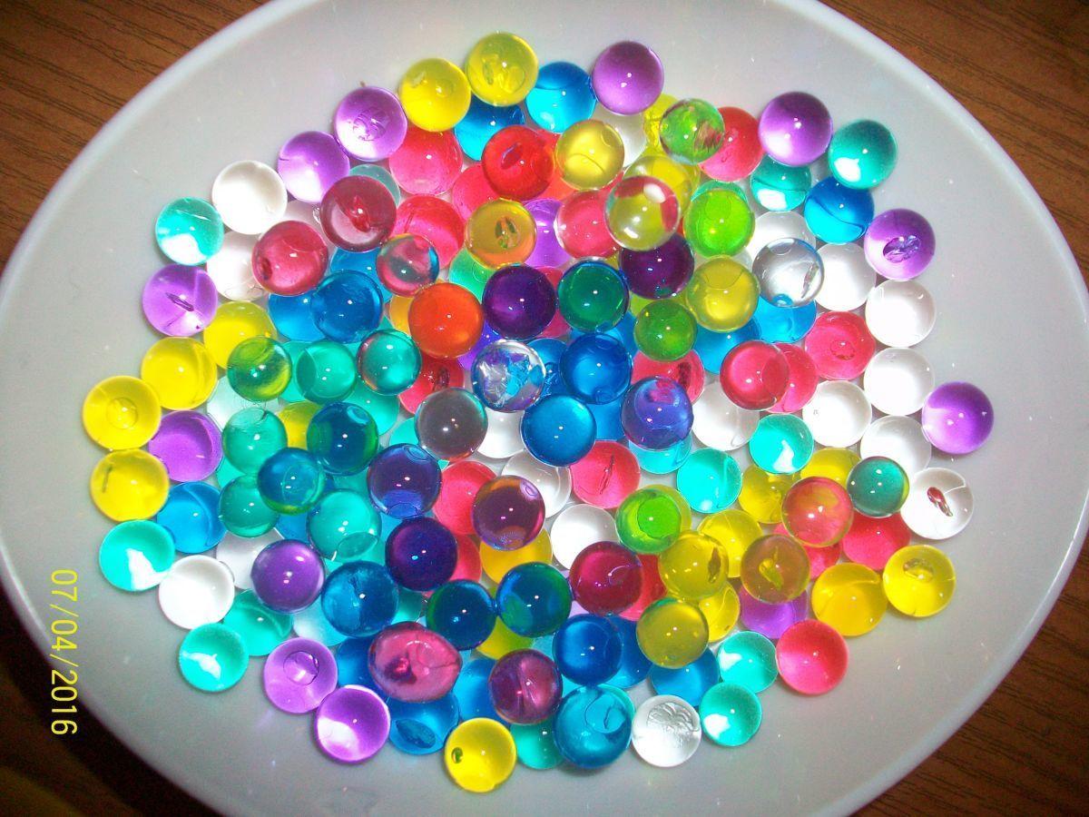 Фото 2 - Гидрогель - 500 разноцветных шариков , растущих в воде. Аналог Орбиз.