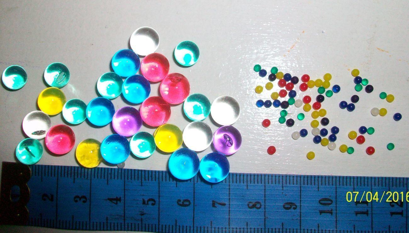 Фото 6 - Гидрогель - 500 разноцветных шариков , растущих в воде. Аналог Орбиз.
