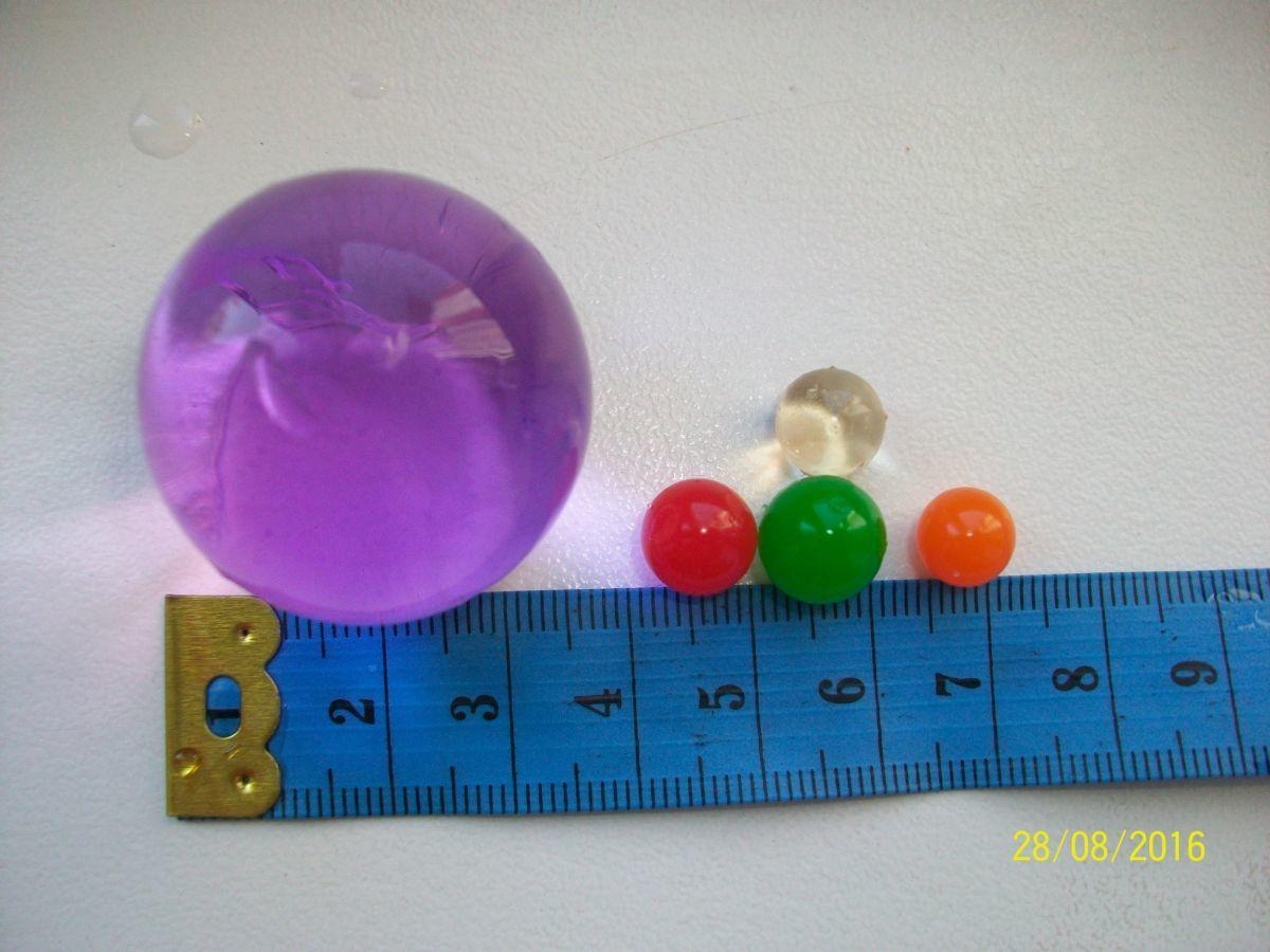 Фото 8 - Гидрогель - 500 разноцветных шариков , растущих в воде. Аналог Орбиз.