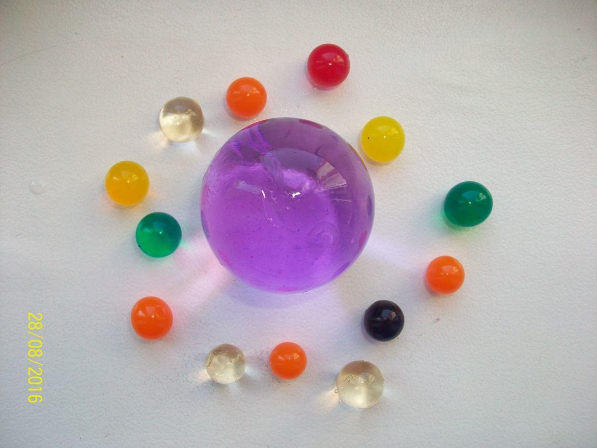Фото 9 - Гидрогель - 500 разноцветных шариков , растущих в воде. Аналог Орбиз.