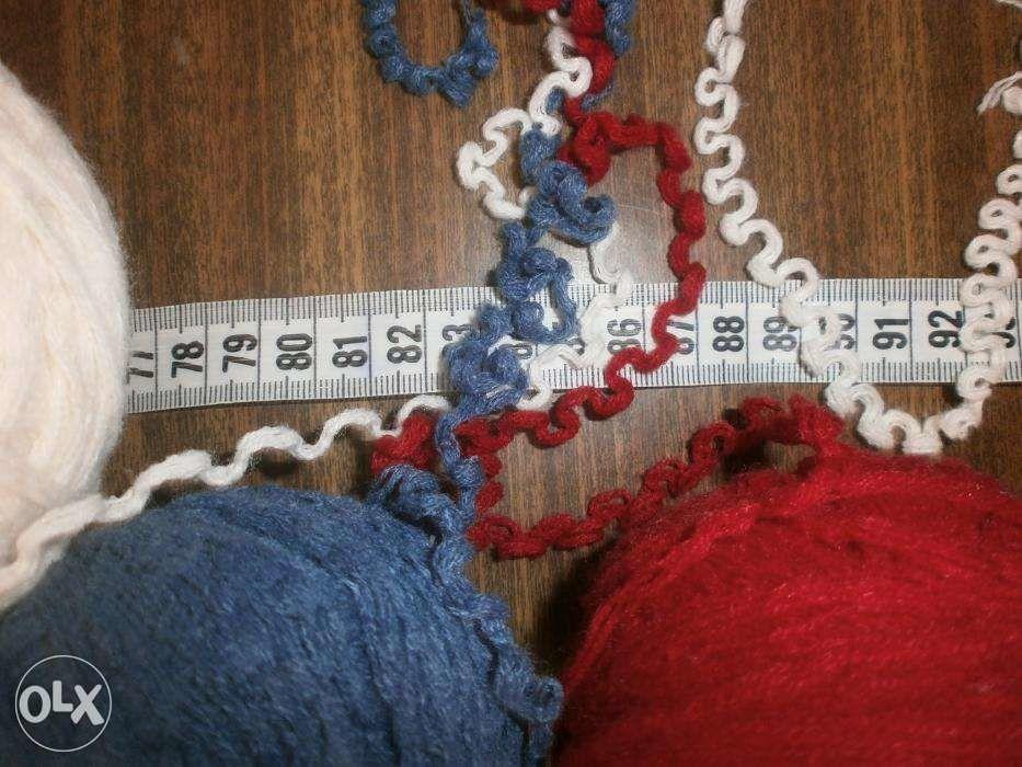 Фото 3 - Пряжа нитки для вязания три цвета, ассорти, вес 680 гр