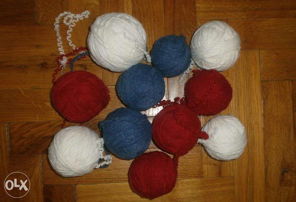 Фото 5 - Пряжа нитки для вязания три цвета, ассорти, вес 680 гр