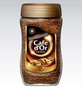 Фото - Кофе растворимый Cafe Dor Gold 200 грамм