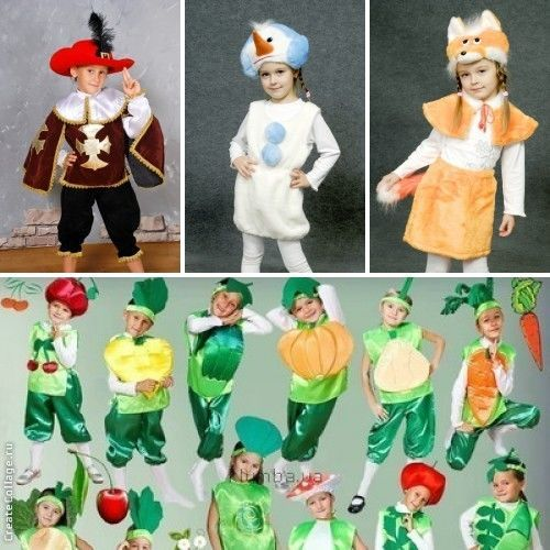 Фото 6 - карнавальные костюмы к празднику золотой осени