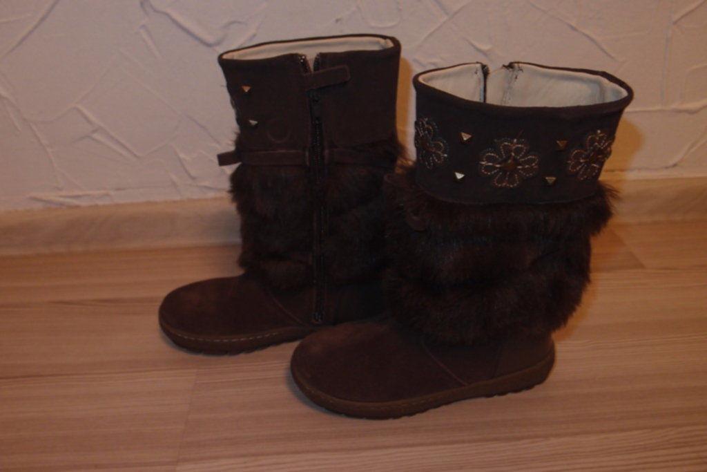 Фото - кожаные сапоги 29 размер тм chicco