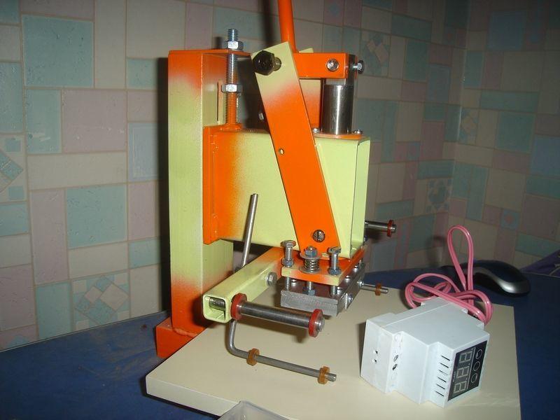 Фото 4 - Станок пресс для тиснения фольгой, термопресс для тиснения