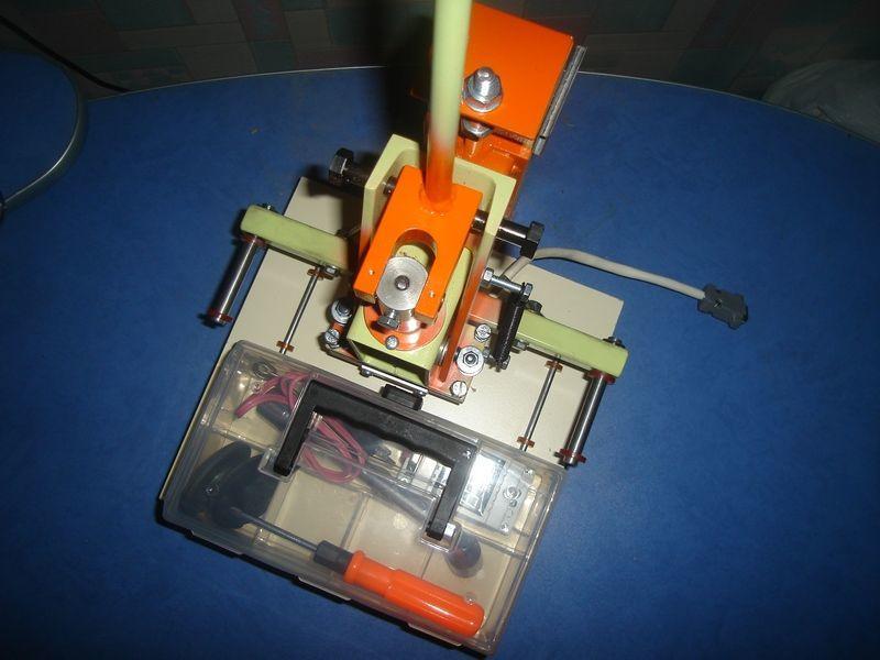 Фото 2 - Станок пресс для тиснения фольгой, термопресс для тиснения