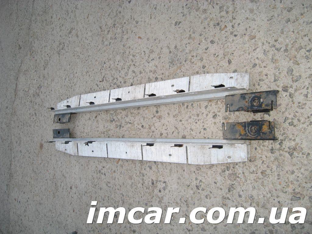 Фото 6 - Порог подножка с алюминиевой накладкой для Mercedes W164 ML-Class