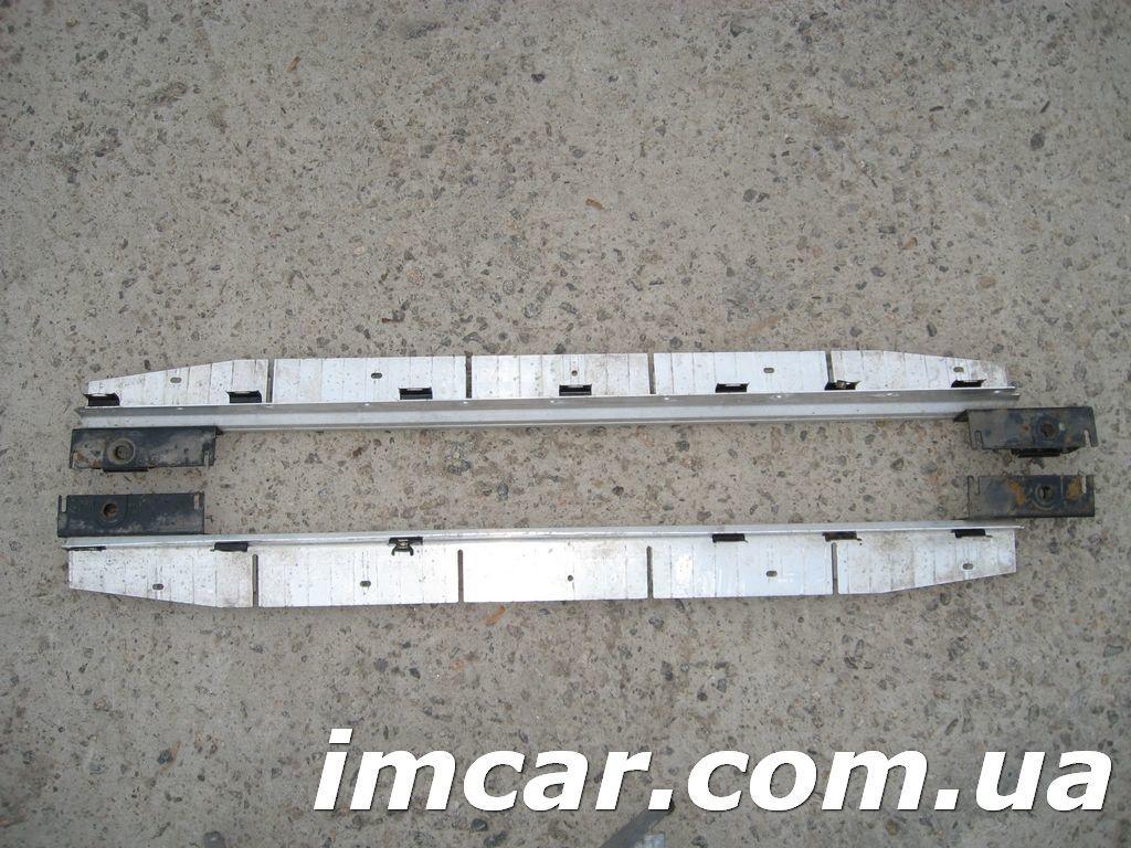 Фото 4 - Порог подножка с алюминиевой накладкой для Mercedes W164 ML-Class