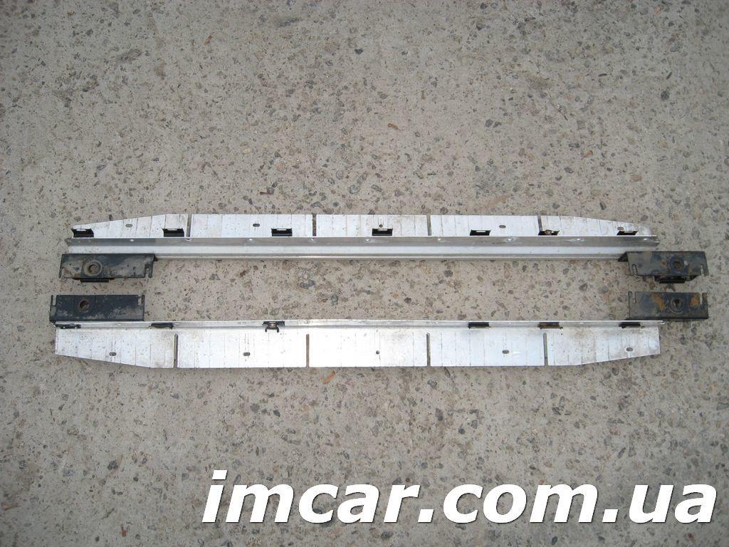 Фото 5 - Порог подножка с алюминиевой накладкой для Mercedes W164 ML-Class