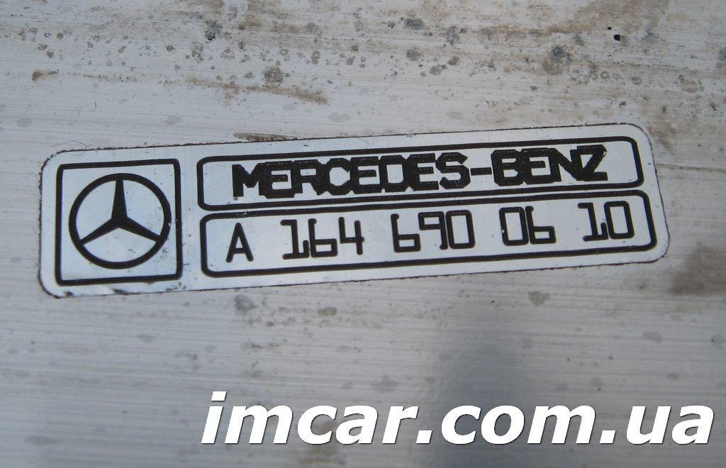 Фото 8 - Порог подножка с алюминиевой накладкой для Mercedes W164 ML-Class