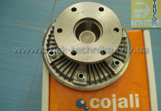 Фото 2 - Вискомуфта вентилятор двигателя DAF 85ATI, 85CF