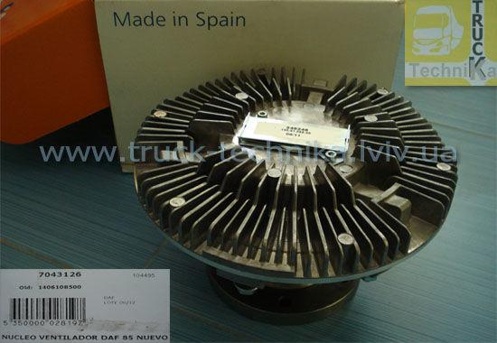 Фото - Вискомуфта вентилятор двигателя DAF 85ATI, 85CF