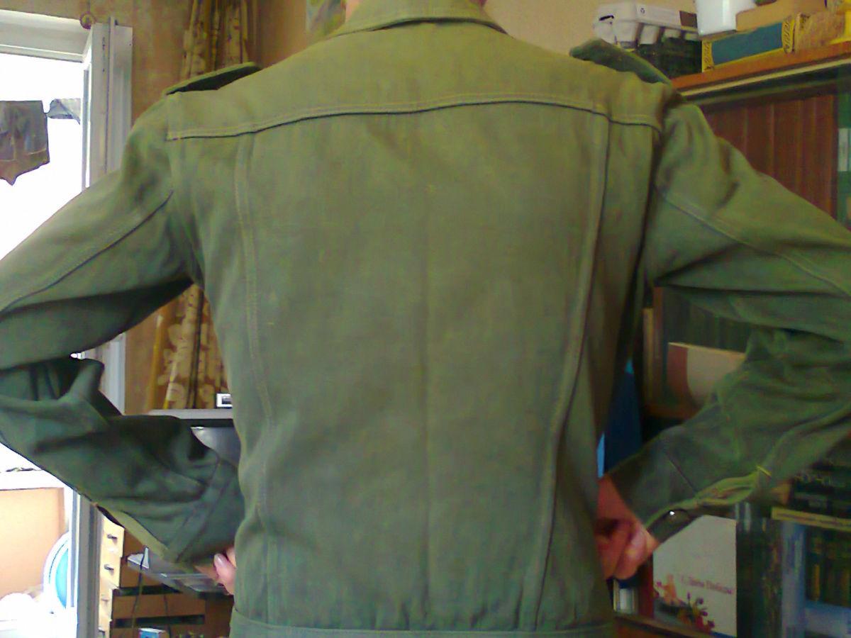 Фото 2 - джинсовая куртка 44-46р