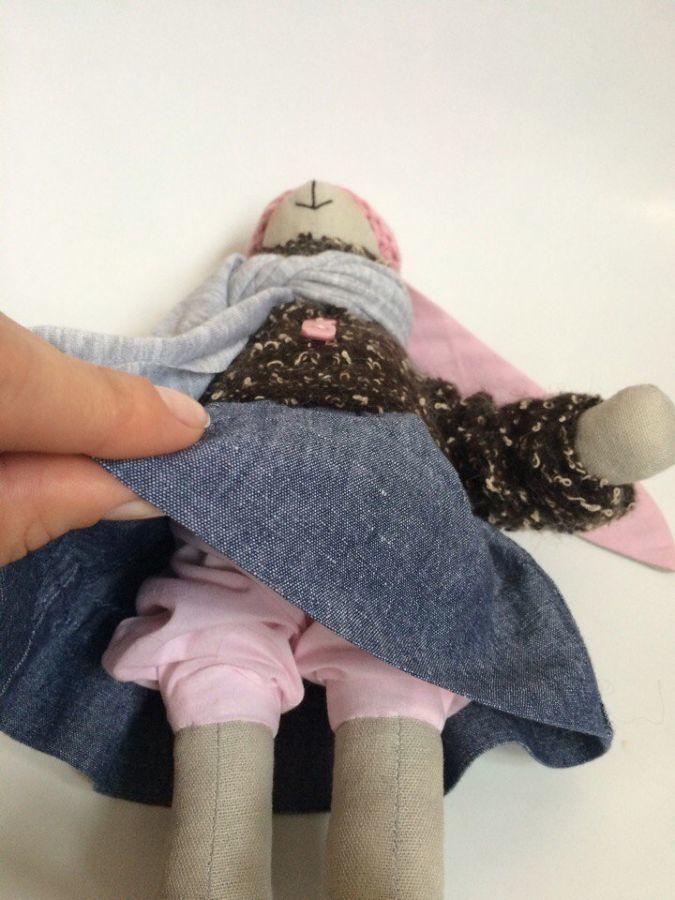 Фото 5 - Зайка тильда, заюня ручная работа, подарок дочке девушке день рождение