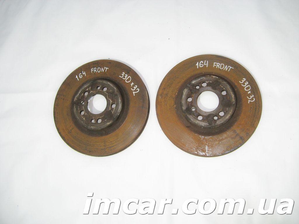 Фото - Передние тормозные диски для Mercedes ML W164/ R-Class W251 330*32 мм