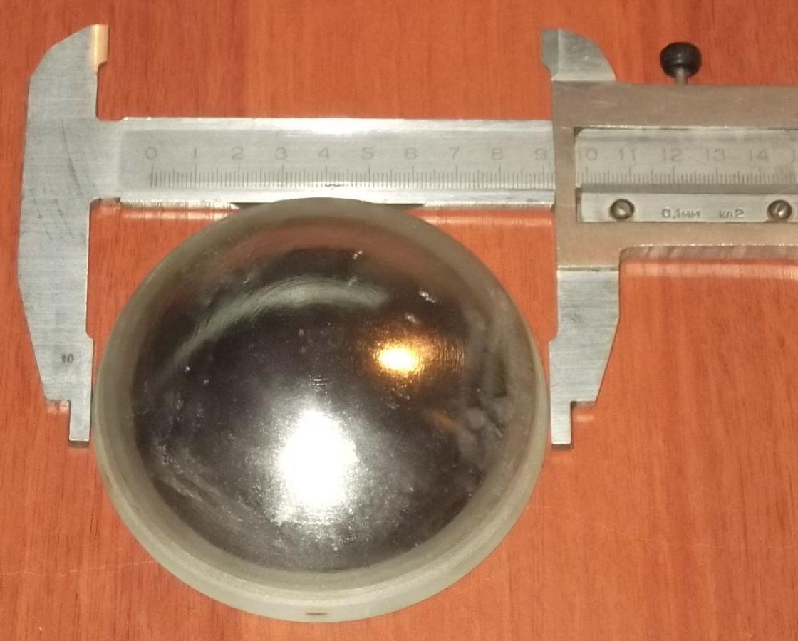 Фото 2 - Сферическое зеркало вогнуто-выпуклое