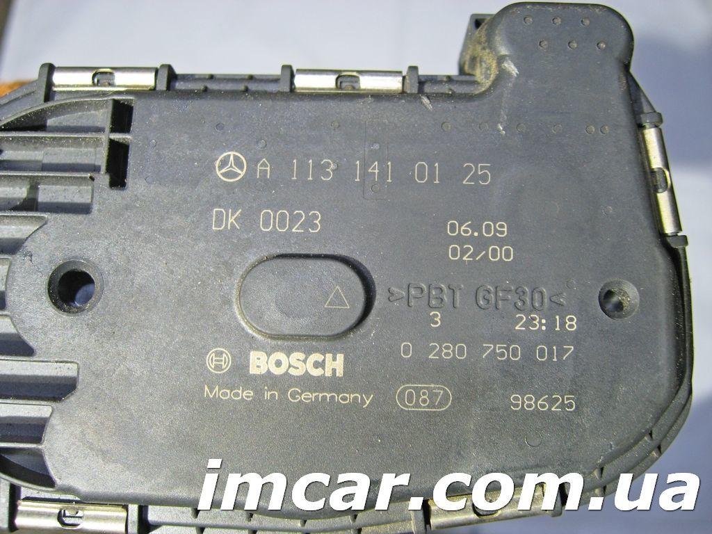 Фото 2 - Дросельная заслонка для Mercedes A1131410125