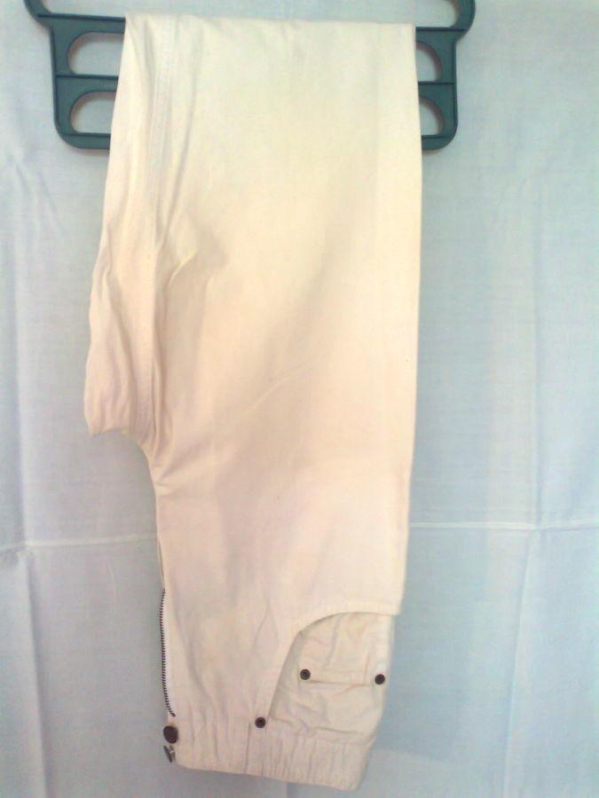 Фото 8 - коттон брюки женские белые 46-48р