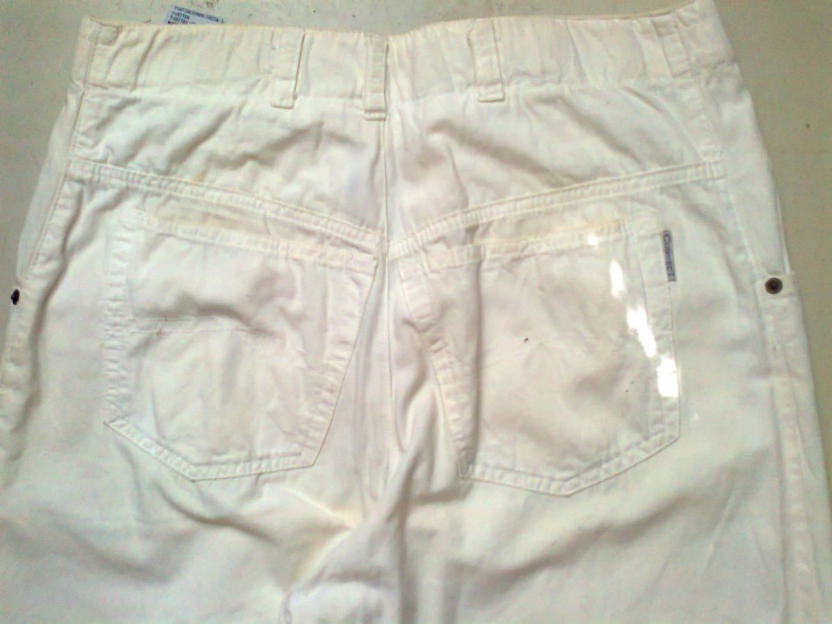 Фото 5 - коттон брюки женские белые 46-48р