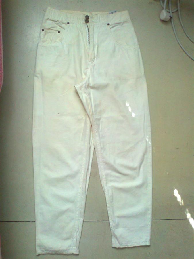 Фото 7 - коттон брюки женские белые 46-48р
