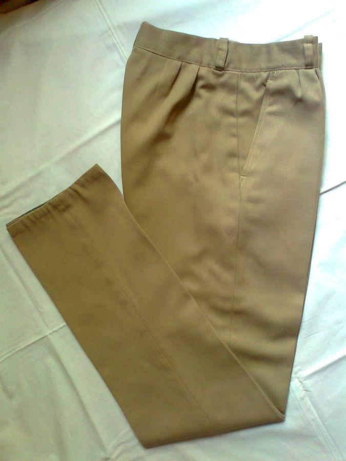 Фото 2 - брюки мужские демисезон беж койот стильные дудочки 48р