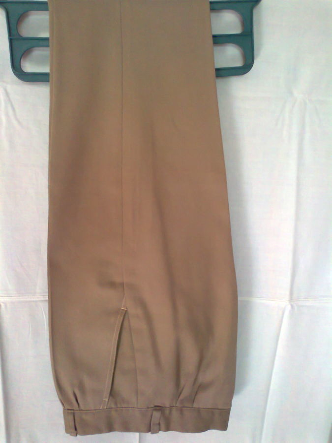 Фото - брюки мужские демисезон беж койот стильные дудочки 48р