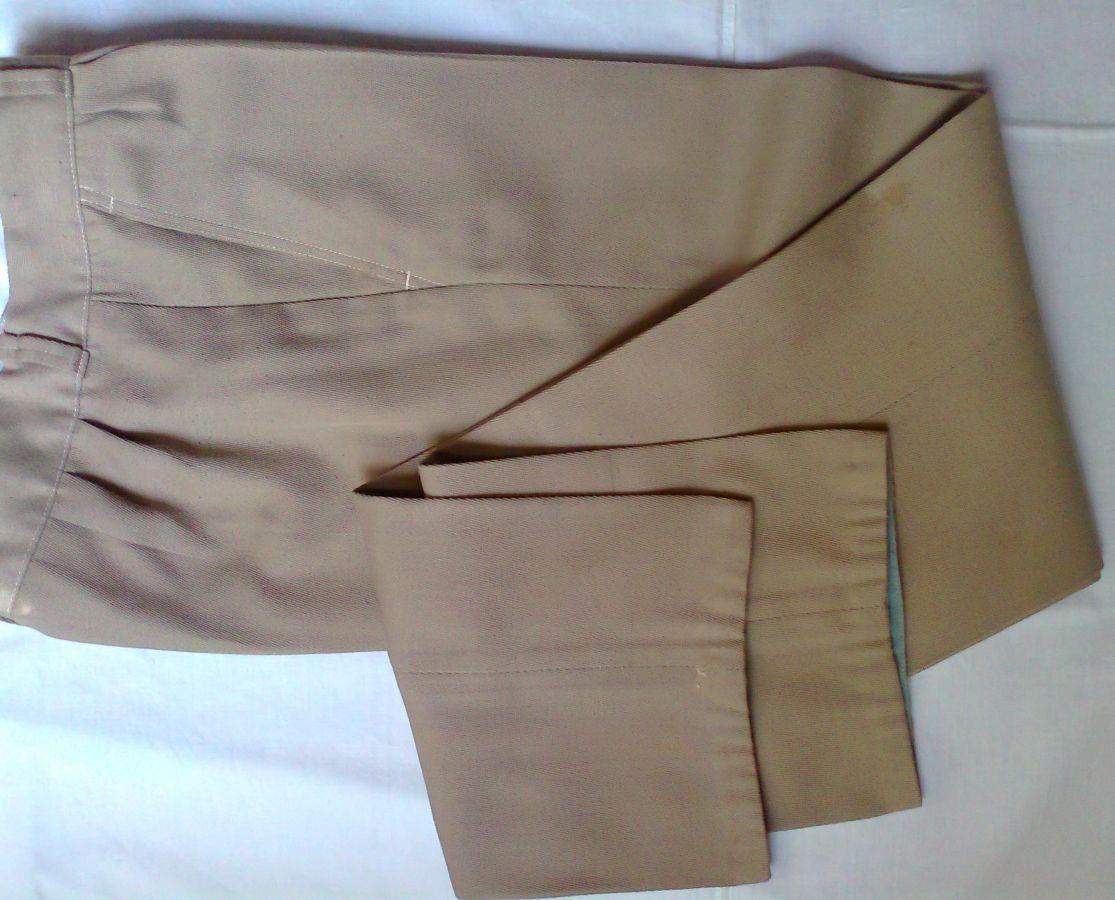 Фото 4 - брюки мужские демисезон беж койот стильные дудочки 48р