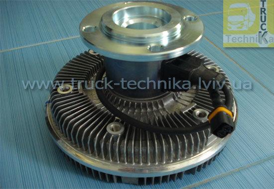 Фото 4 - Вискомуфта вентилятор MAN TGA система охлаждения, двигатель D2066