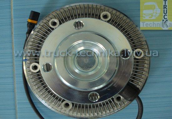 Фото 2 - Вискомуфта вентилятор MAN TGA система охлаждения, двигатель D2066
