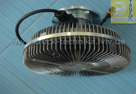 Фото 3 - Вискомуфта вентилятор MAN TGA система охлаждения, двигатель D2066