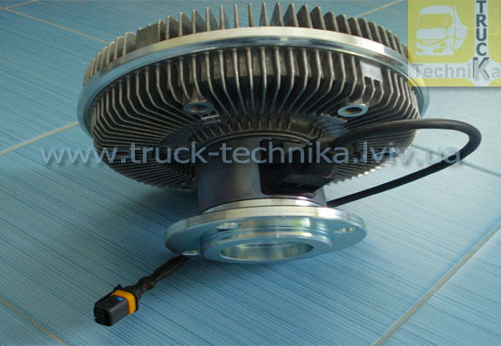 Фото - Вискомуфта вентилятор MAN TGA система охлаждения, двигатель D2066