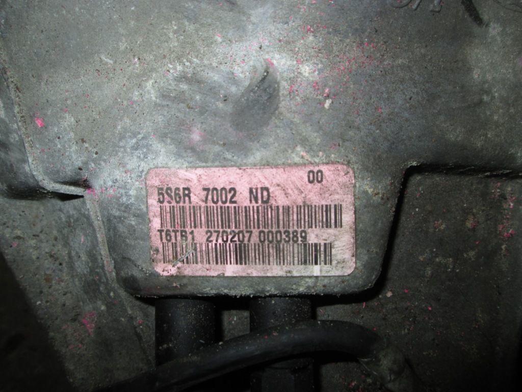 Фото - Коробка передач Ford Fusion 1.6 cdti 2006-2013