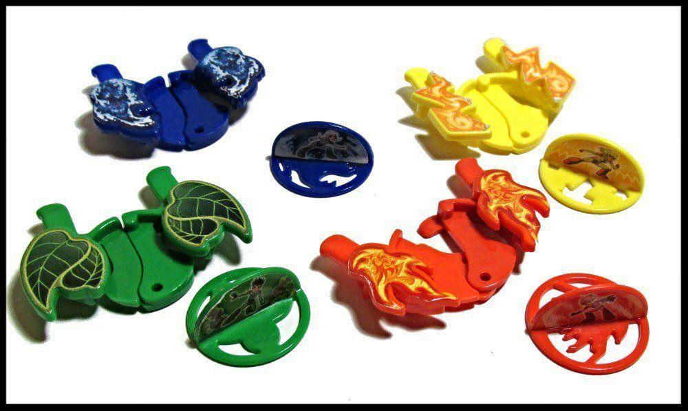 Фото - Киндер игрушки. Стрелялки, 4 шт