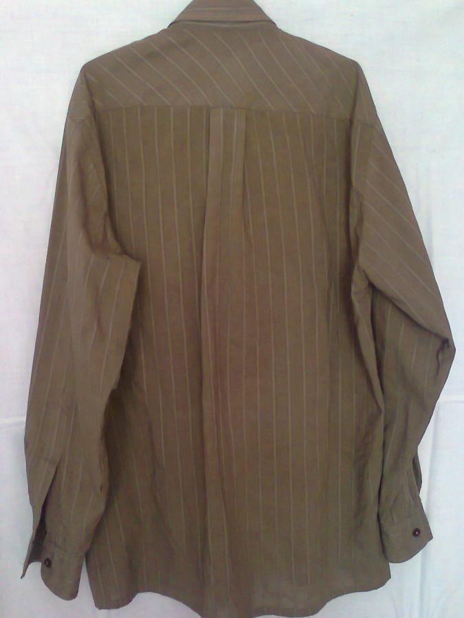 Фото 6 - рубашка мужская классная горчичный цвет вор 49