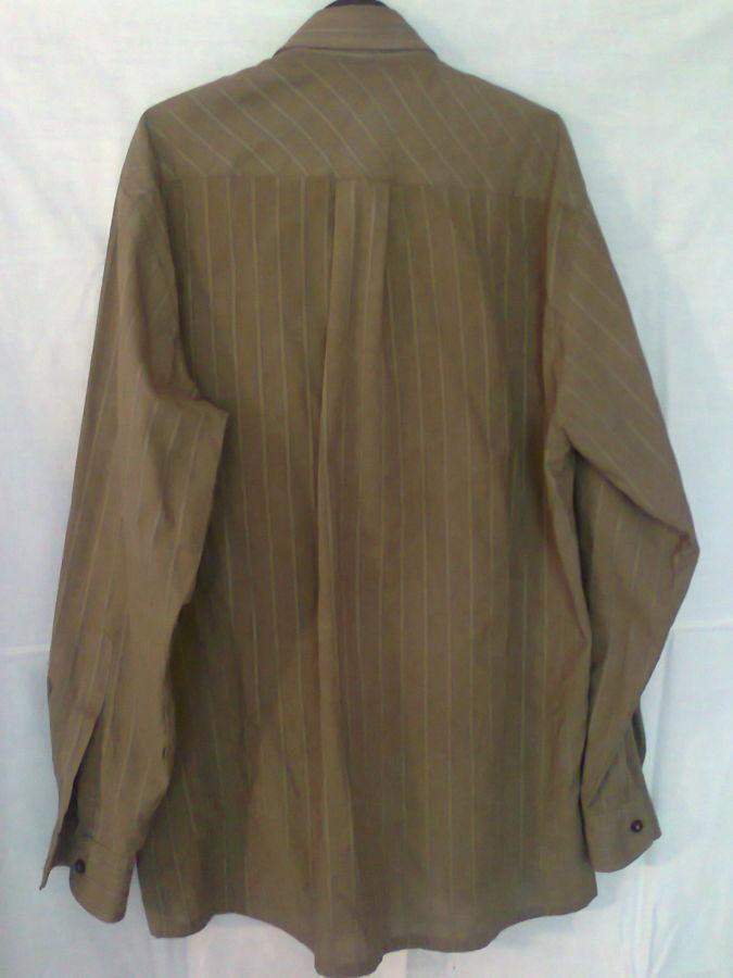 Фото 7 - рубашка мужская классная горчичный цвет вор 49